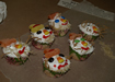 Scarecrow cup cakes and Christmas crafts